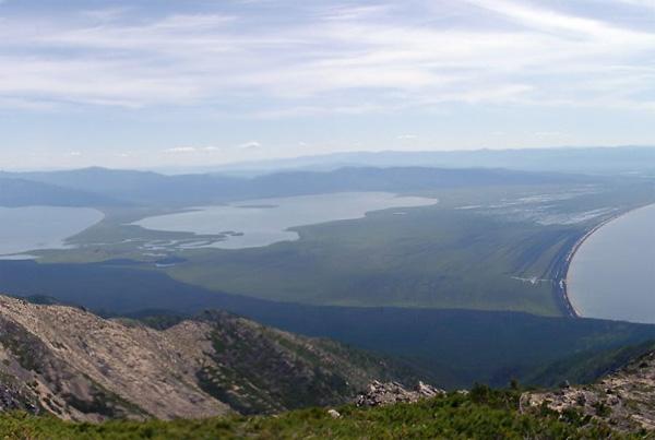 Bajkał - Półwysep Święty Nos